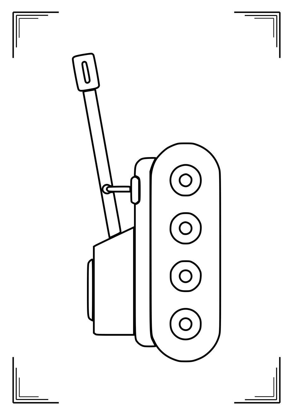 Раскраска: маленький танк — raskraski-a4.ru