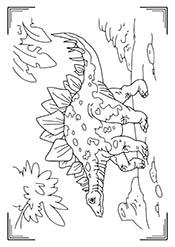 Раскраски: Динозавры (30 рисунков) — raskraski-a4.ru
