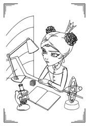 Раскраски из мультфильма «Царевны» (10 картинок ...